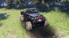 Toyota FJ40 Black for Spin Tires