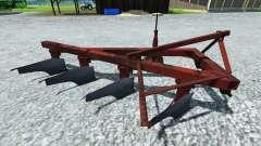 The plough PLN-4-35