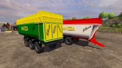 Trailers Ravizza Millenium 8200 for Farming Simulator 2013