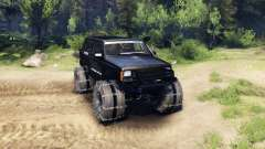 Jeep Cherokee XJ v1.3 Rough Country black