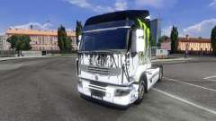 Color-Monster Energy - for Renault Premium tractor unit for Euro Truck Simulator 2