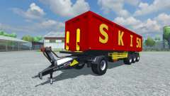 The semi-trailer Schmitz SKI 50 v2.0