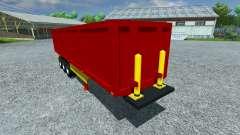 The semi-trailer Schmitz SKI 50