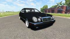 Mercedes-Benz E420 W124 tuning for BeamNG Drive