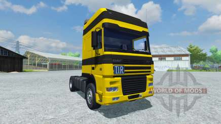 DAF XF 105 for Farming Simulator 2013