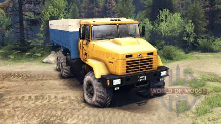 KrAZ-6446 for Spin Tires