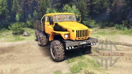 Ural-4320-41 for Spin Tires