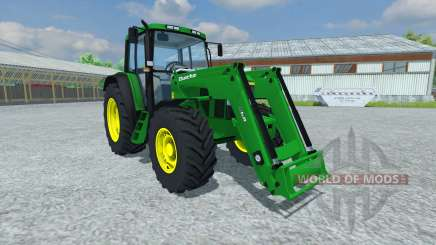 John Deere 6506 FL v2.5 for Farming Simulator 2013
