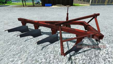 The plough PLN-4-35 for Farming Simulator 2013