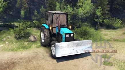 MTZ-1221 Belarus v2.0 for Spin Tires