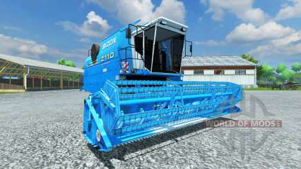 Bizon Z 110 blue for Farming Simulator 2013