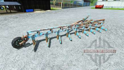 The plough PLN-9-35 for Farming Simulator 2013