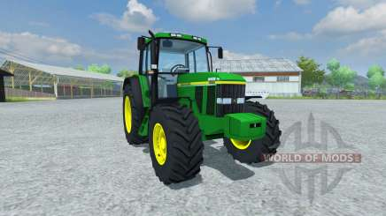 John Deere 6506 v1.5 for Farming Simulator 2013