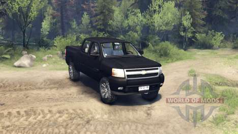Chevrolet Silverado 2011 for Spin Tires