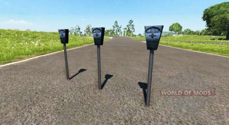 Parking meter for BeamNG Drive