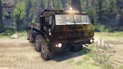 KrAZ-E v1.3 bomb for Spin Tires