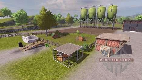 Russian map for Farming Simulator 2013