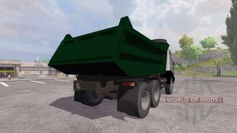 KamAZ-55111 for Farming Simulator 2013