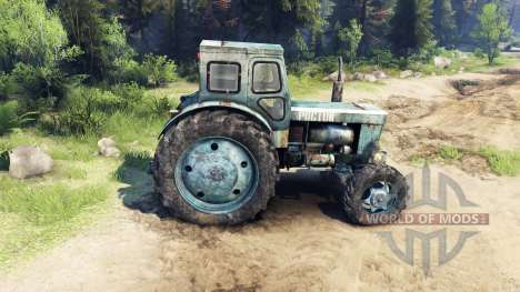Tractor T-IM v1.1 for Spin Tires