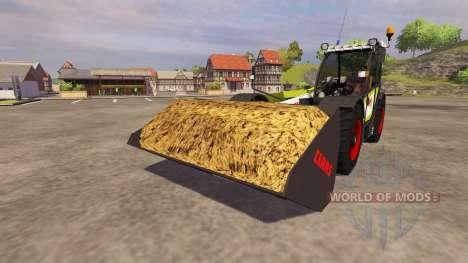 Excavation bucket CLAAS Scorpion Blade for Farming Simulator 2013