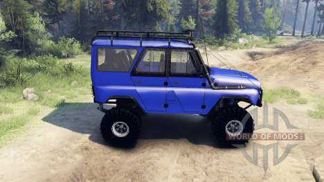 UAZ-469 Commander for Spin Tires
