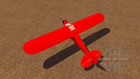 Aircraft Piper J-3 Cub for Farming Simulator 2013