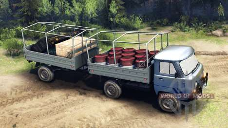 UAZ-29232 for Spin Tires