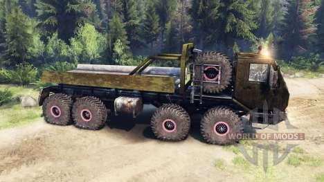 KrAZ-E v1.3 dirty for Spin Tires