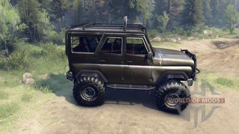 UAZ-hunter 315195 for Spin Tires