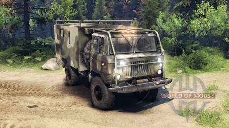 GAZ-66 v1.4 for Spin Tires