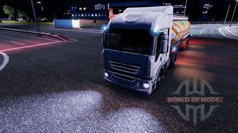 Light mod for Euro Truck Simulator 2