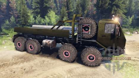 KrAZ-E v1.3 clean for Spin Tires