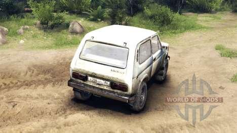 VAZ-2121 Niva v2.0 for Spin Tires