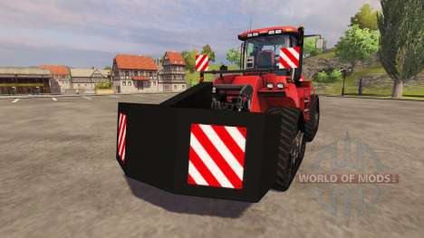 Rear counterweight for Farming Simulator 2013