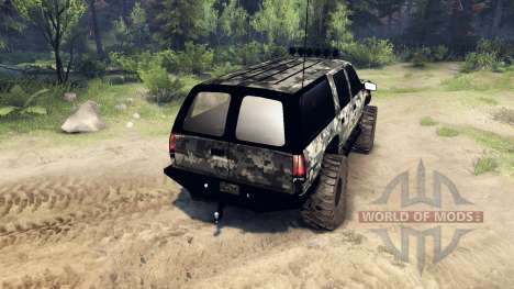 Chevrolet Suburban 1998 v1.2 for Spin Tires