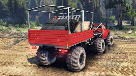 Toyota Hilux Truggy v1.0 wheels1 for Spin Tires