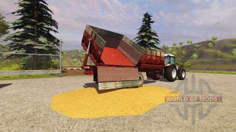 Trailer PTS-9 1990 for Farming Simulator 2013