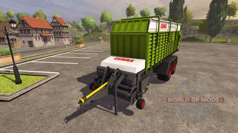 Trailer CLAAS Quantum 6800S 2004 for Farming Simulator 2013
