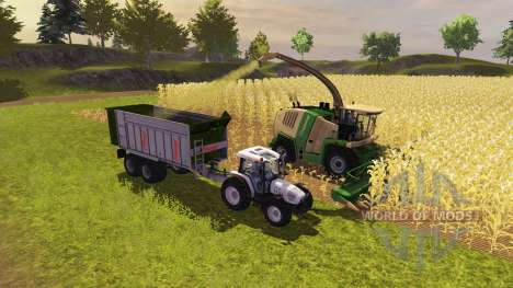 Trailer Fliegl ASW 268 2011 for Farming Simulator 2013