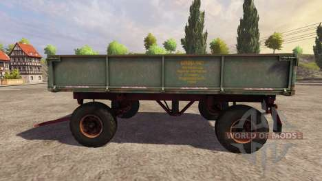 Trailer 2PTS-4 2009 v2.0 for Farming Simulator 2013