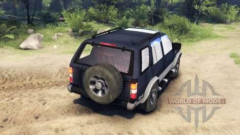 Nissan Terrano I V6-3000 R3 for Spin Tires