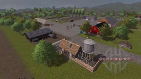 Russian map for Farming Simulator 2013