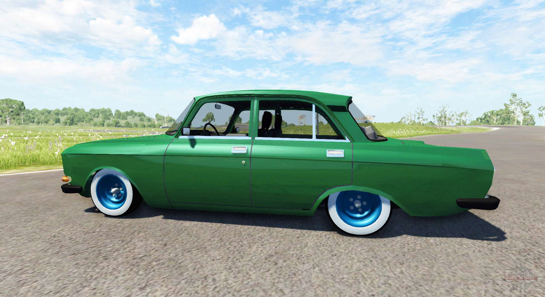 Moskvich 2140 For Beamng Drive
