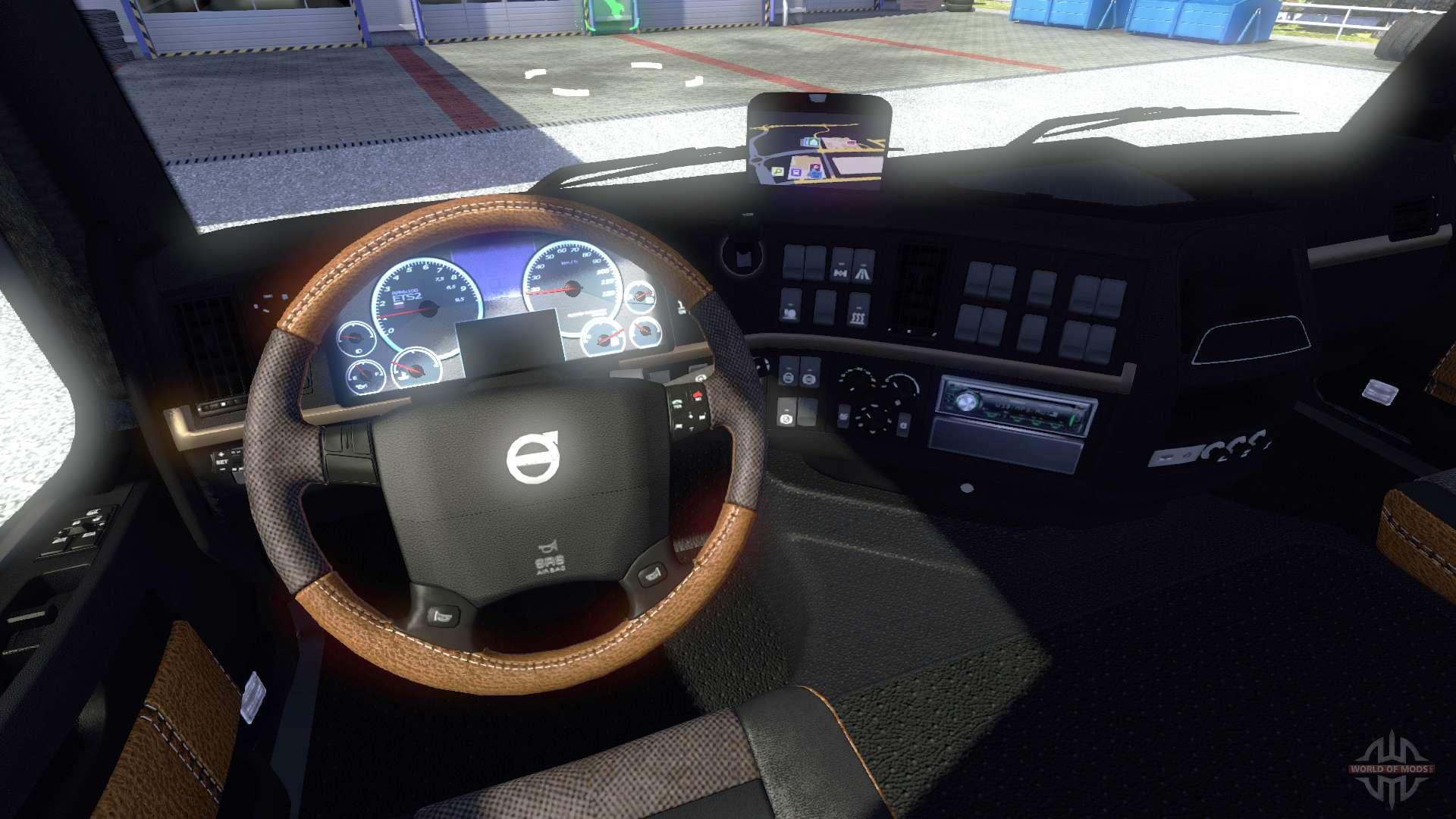 New interior volvo for euro truck simulator 2 for New interior