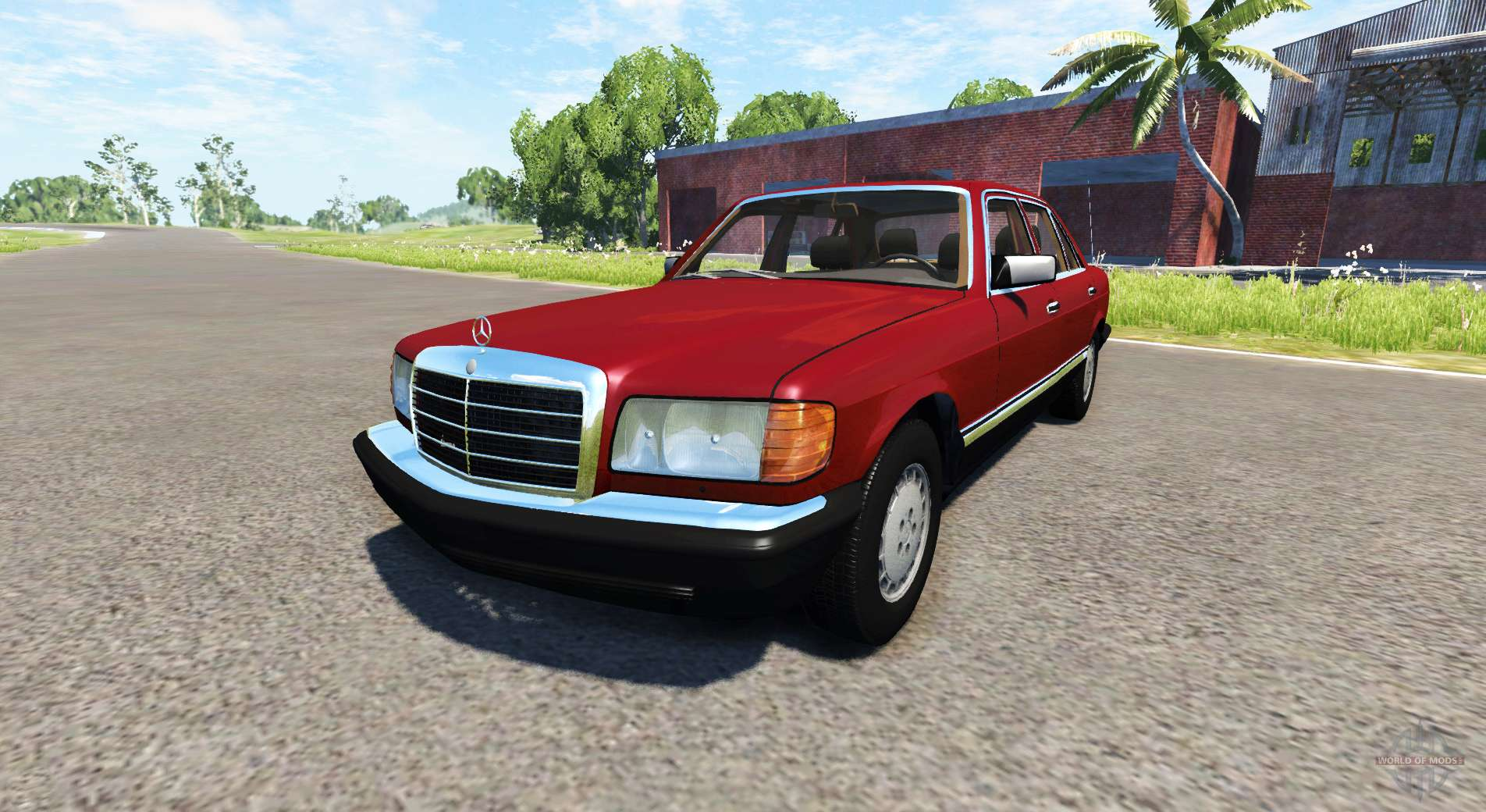 Mercedes benz w126 for beamng drive for Mercedes benz w126