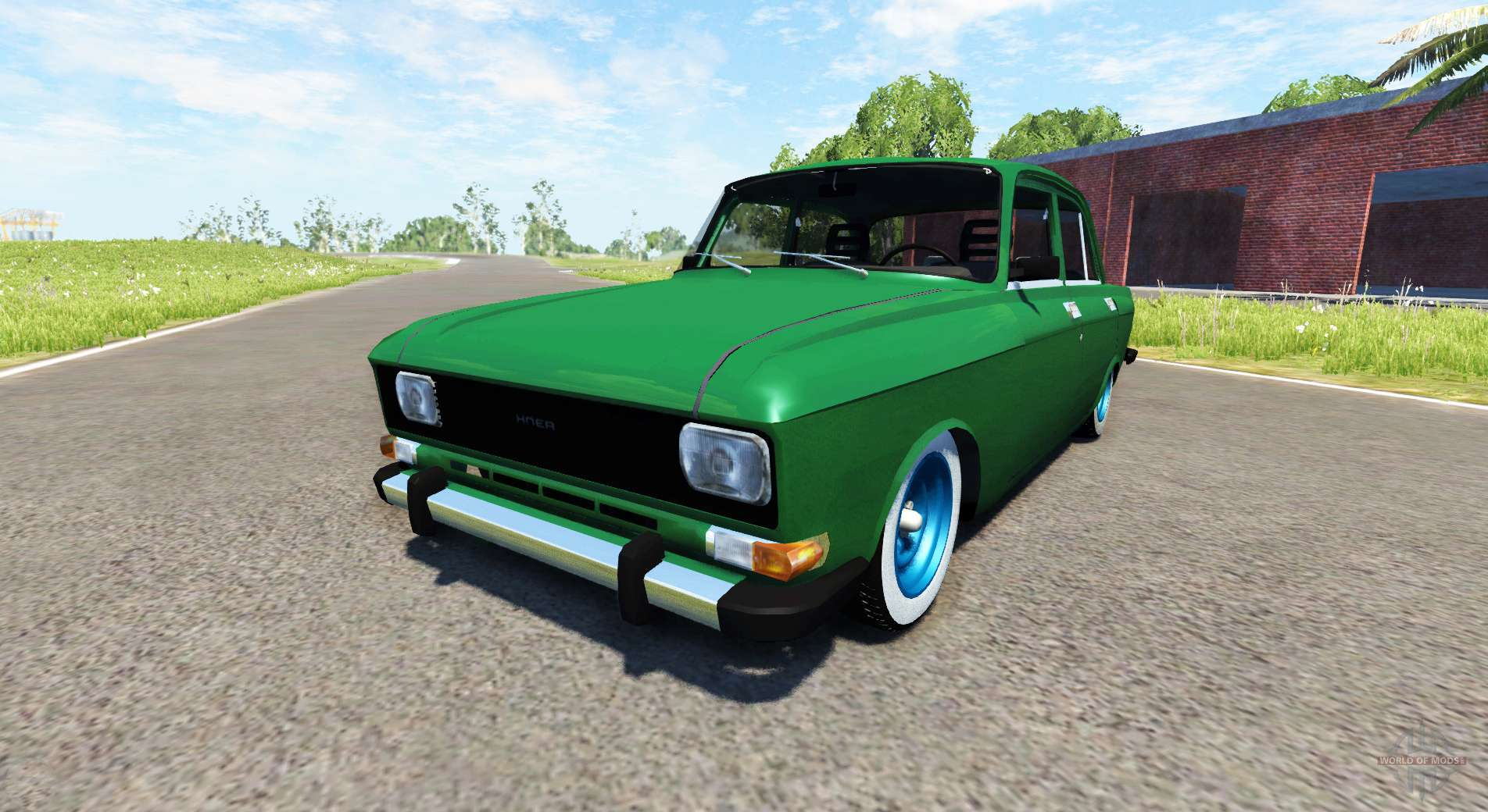 Fast Awd Cars >> Moskvich-2140 for BeamNG Drive