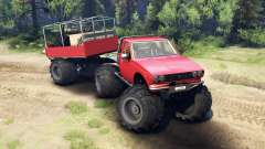 Toyota Hilux Truggy v1.0 wheels2 for Spin Tires