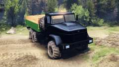 The KrAZ-6322 Tuning
