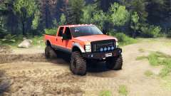 Ford F-350 Super Duty 6.8 2008 v0.1.0 orange