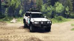 Toyota Land Cruiser 105 for Spin Tires